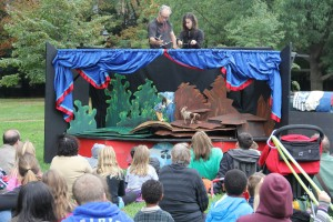 Seton Hill French Fair Puppet Show Baltimore City Festival