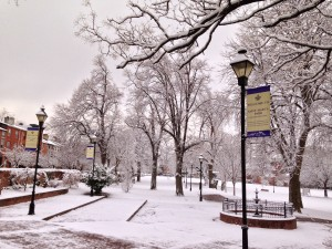 Winter in Seton Hill